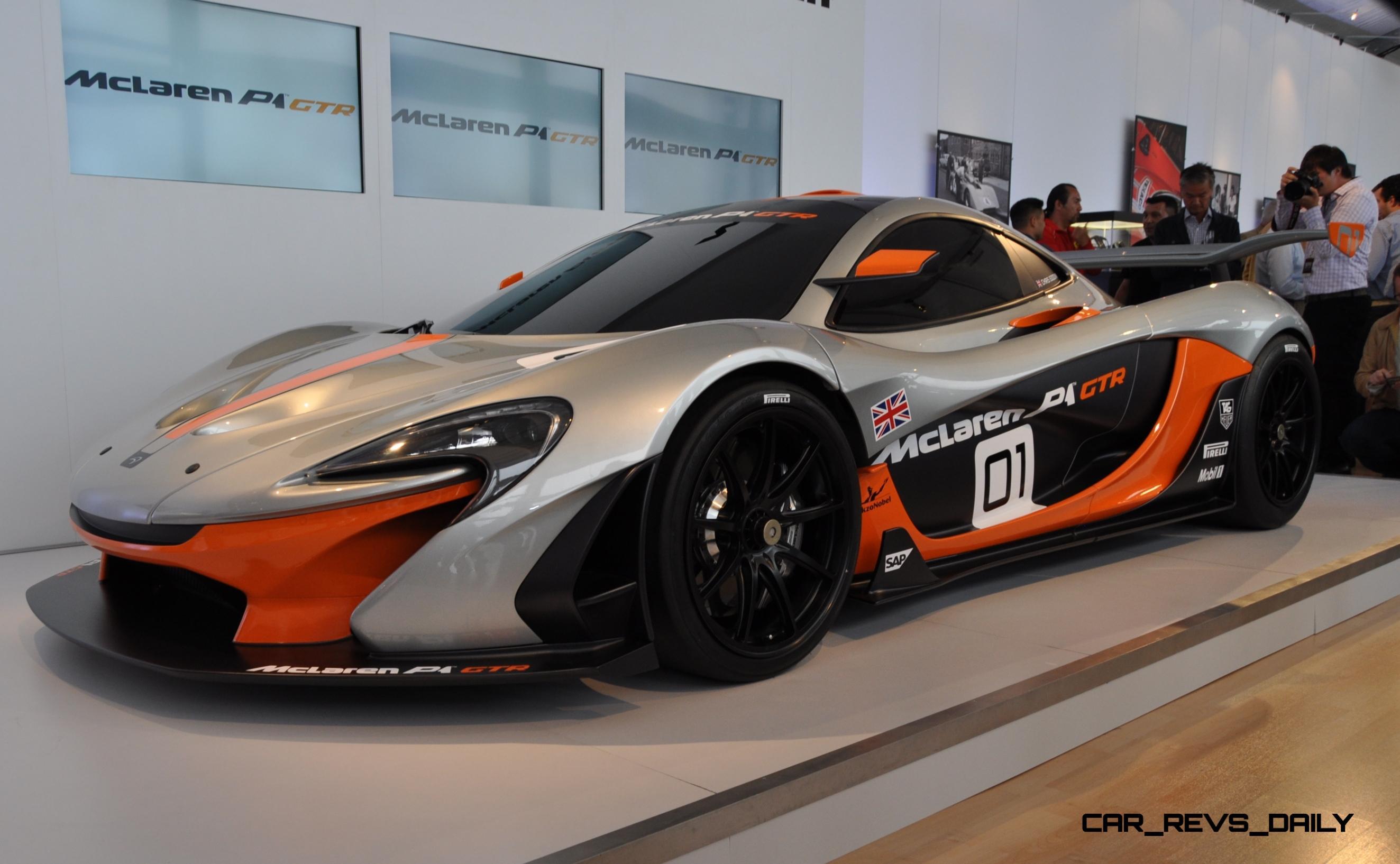 2015 McLaren P1 GTR - Pebble Beach World Debut in 55 High-Res Photos 30