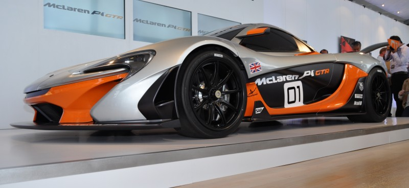 2015 McLaren P1 GTR - Pebble Beach World Debut in 55 High-Res Photos 31