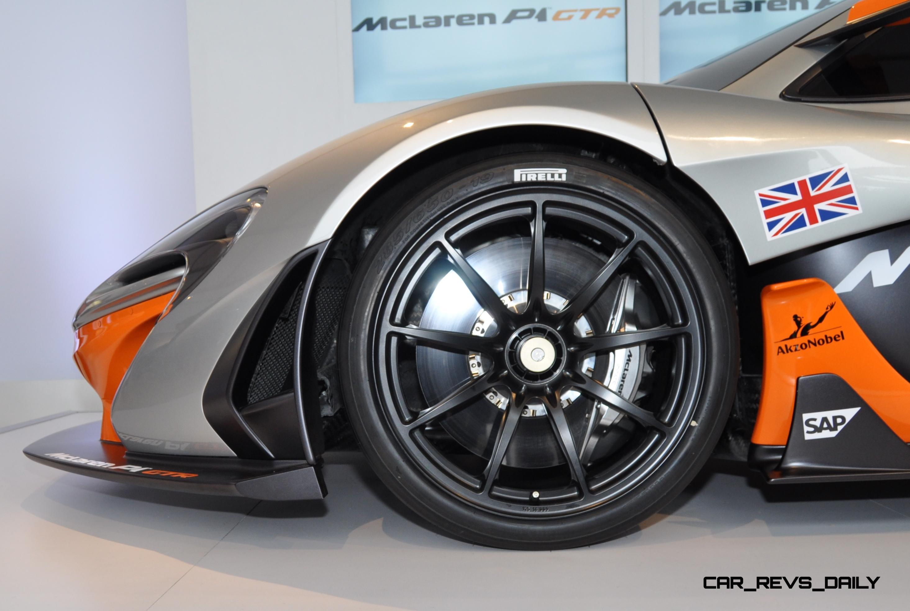 2015 McLaren P1 GTR - Pebble Beach World Debut in 55 High-Res Photos 37