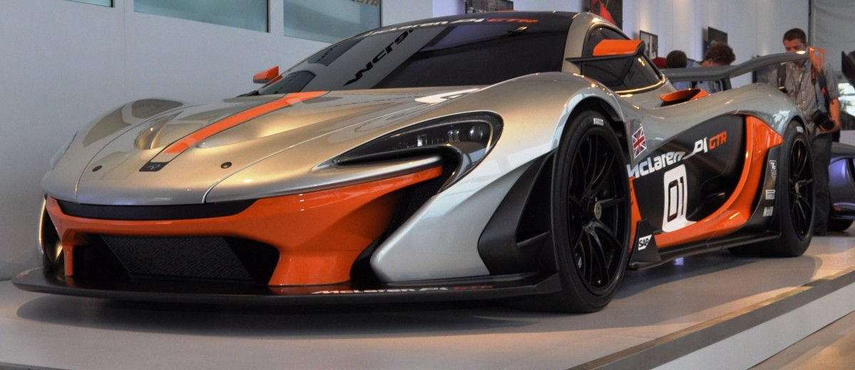 2015 McLaren P1 GTR - Pebble Beach World Debut in 55 High-Res Photos 38
