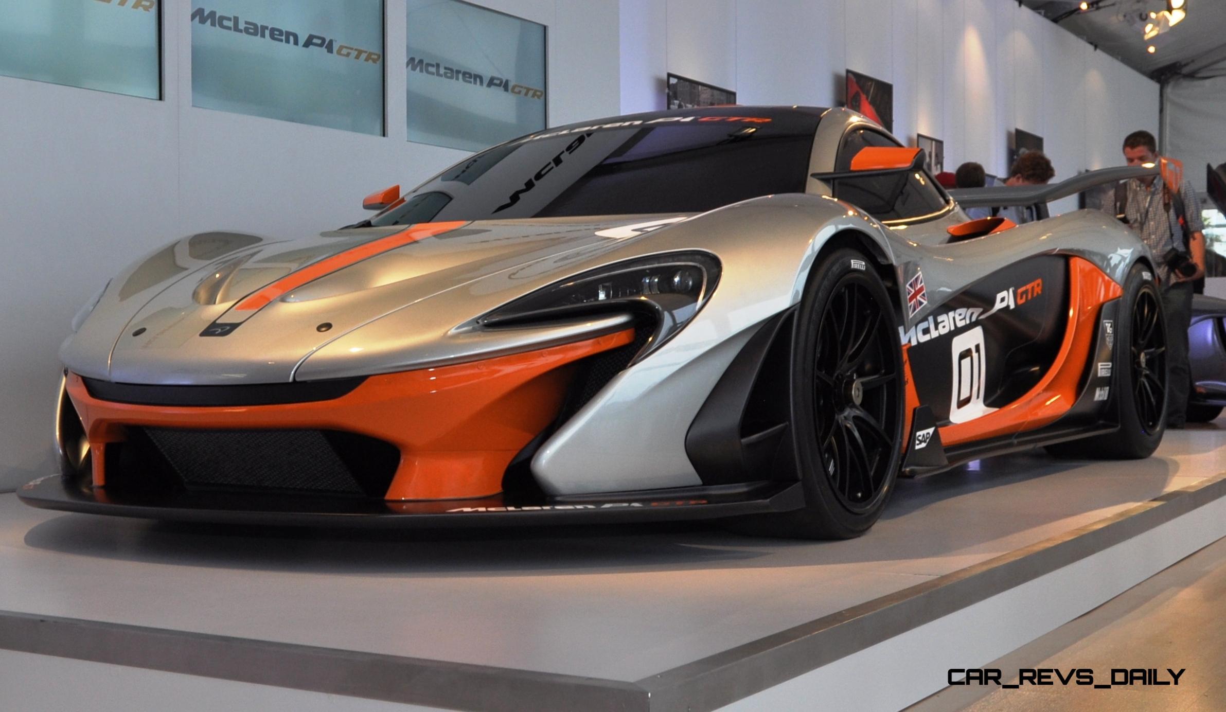 2015 McLaren P1 GTR - Pebble Beach World Debut in 55 High-Res Photos 38