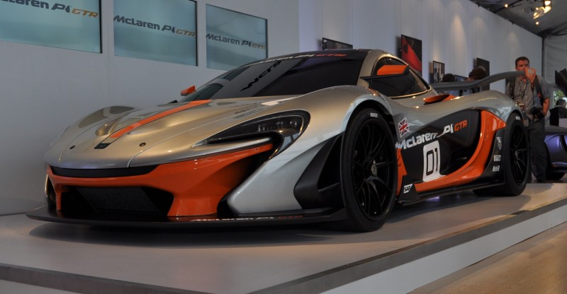 2015 McLaren P1 GTR - Pebble Beach World Debut in 55 High-Res Photos 39
