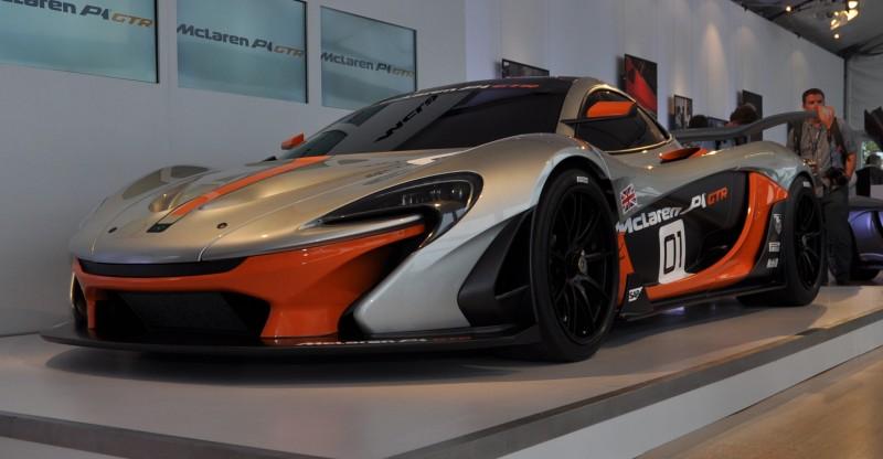 2015 McLaren P1 GTR - Pebble Beach World Debut in 55 High-Res Photos 39