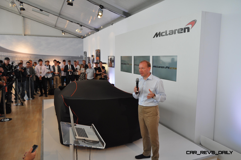 2015 McLaren P1 GTR - Pebble Beach World Debut in 55 High-Res Photos 4