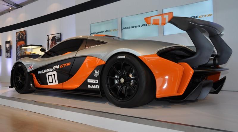 2015 McLaren P1 GTR - Pebble Beach World Debut in 55 High-Res Photos 42