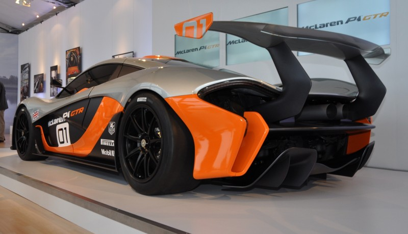 2015 McLaren P1 GTR - Pebble Beach World Debut in 55 High-Res Photos 43