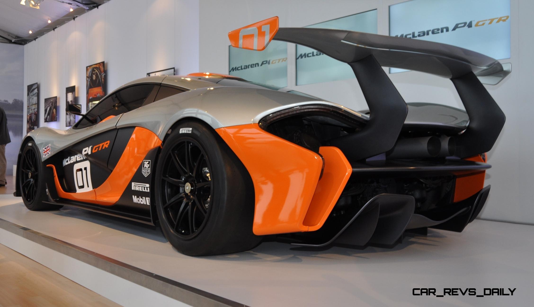 2015 McLaren P1 GTR - Pebble Beach World Debut in 55 High-Res Photos 43