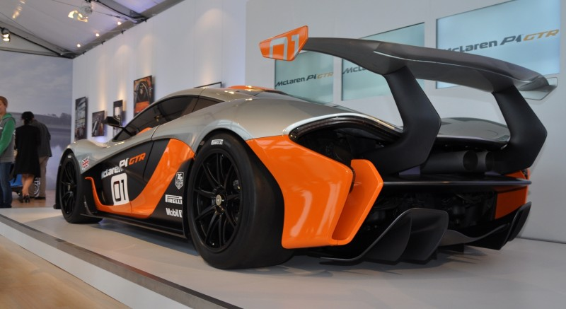 2015 McLaren P1 GTR - Pebble Beach World Debut in 55 High-Res Photos 44