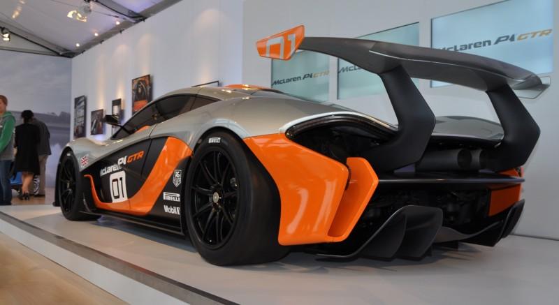 2015 McLaren P1 GTR - Pebble Beach World Debut in 55 High-Res Photos 44