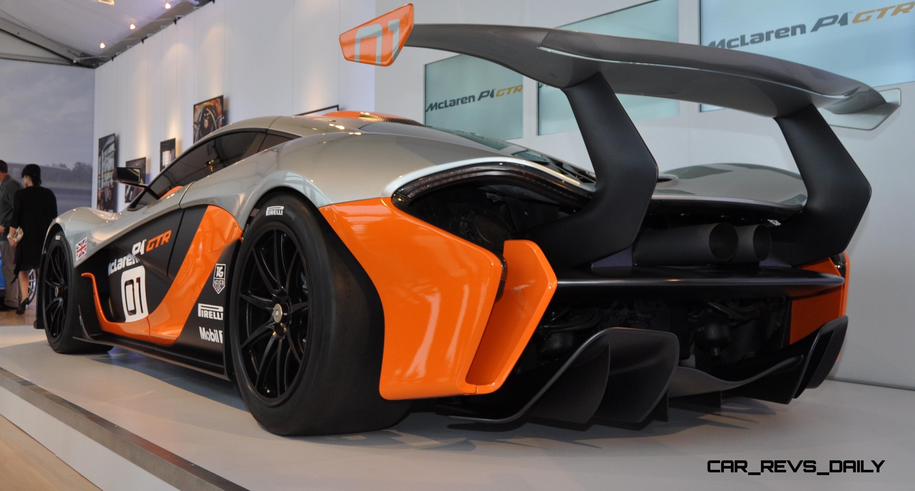 2015 McLaren P1 GTR - Pebble Beach World Debut in 55 High-Res Photos 45