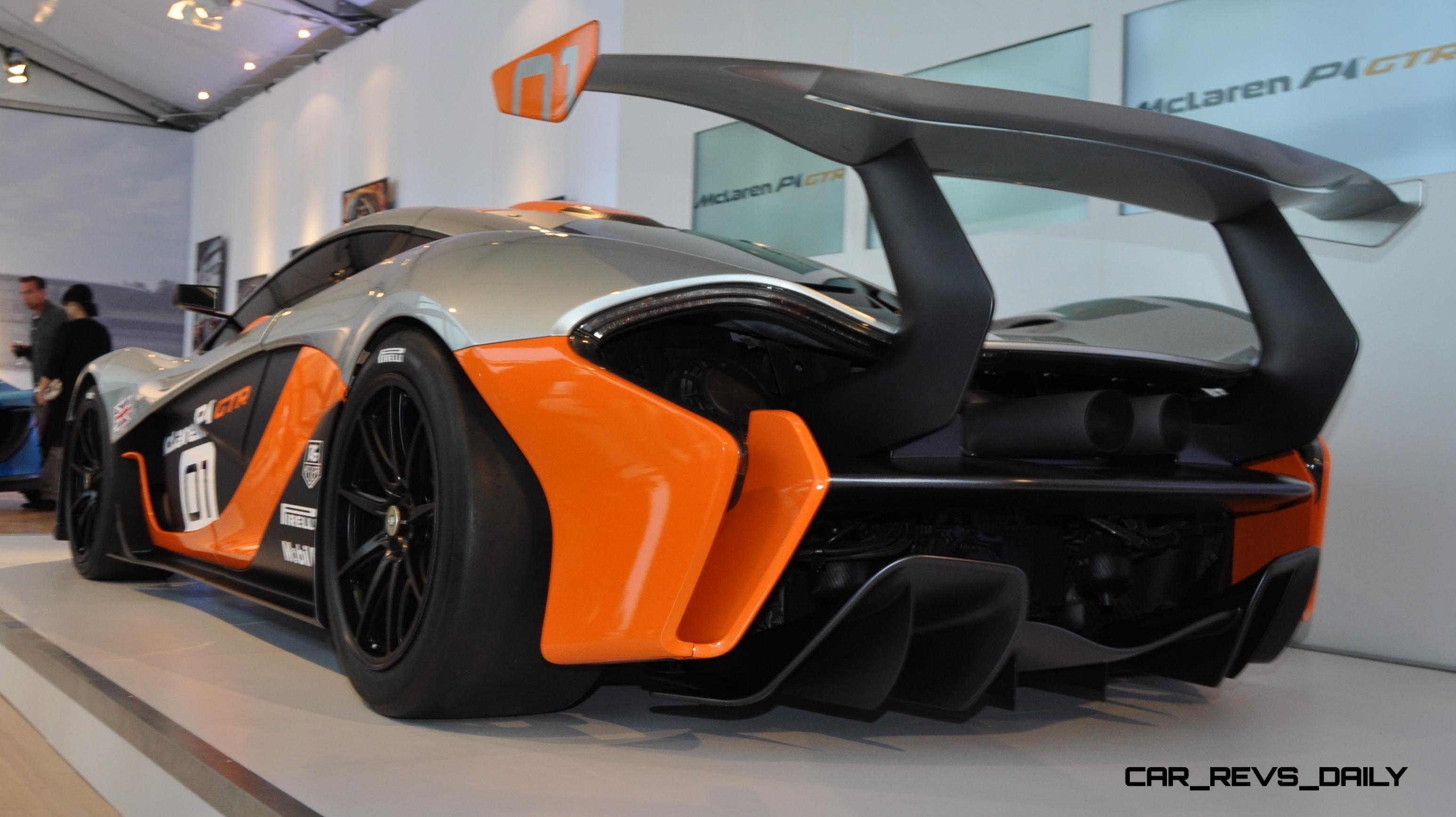 2015 McLaren P1 GTR - Pebble Beach World Debut in 55 High-Res Photos 46