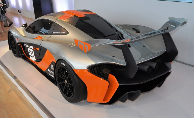 2015 McLaren P1 GTR - Pebble Beach World Debut in 55 High-Res Photos 47
