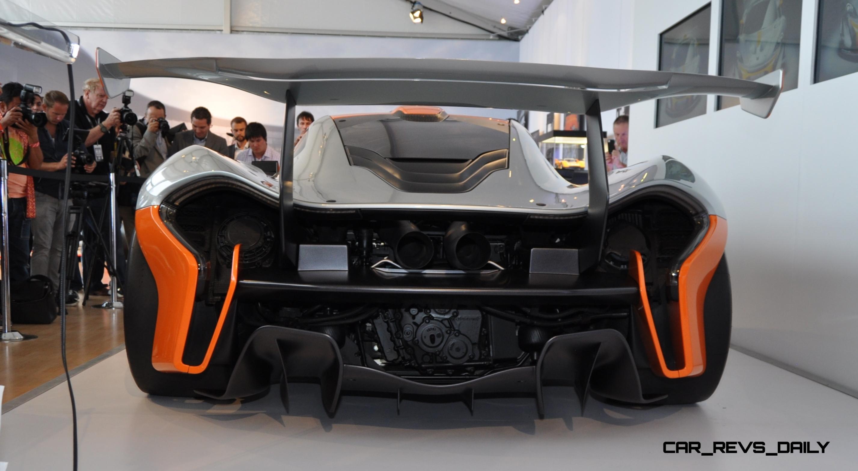 2015 McLaren P1 GTR - Pebble Beach World Debut in 55 High-Res Photos 5