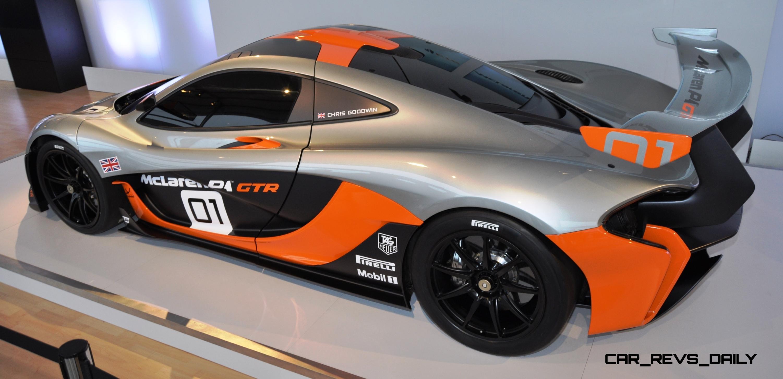 2015 McLaren P1 GTR - Pebble Beach World Debut in 55 High-Res Photos 50