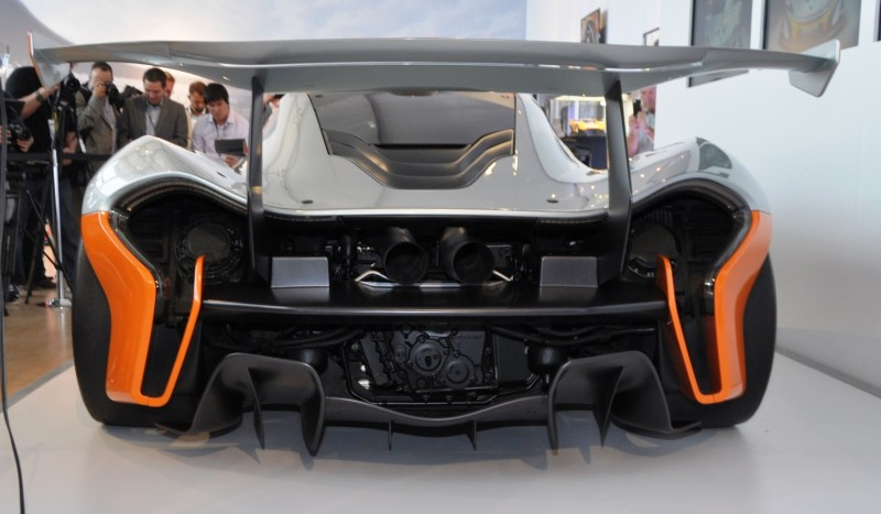 2015 McLaren P1 GTR - Pebble Beach World Debut in 55 High-Res Photos 6