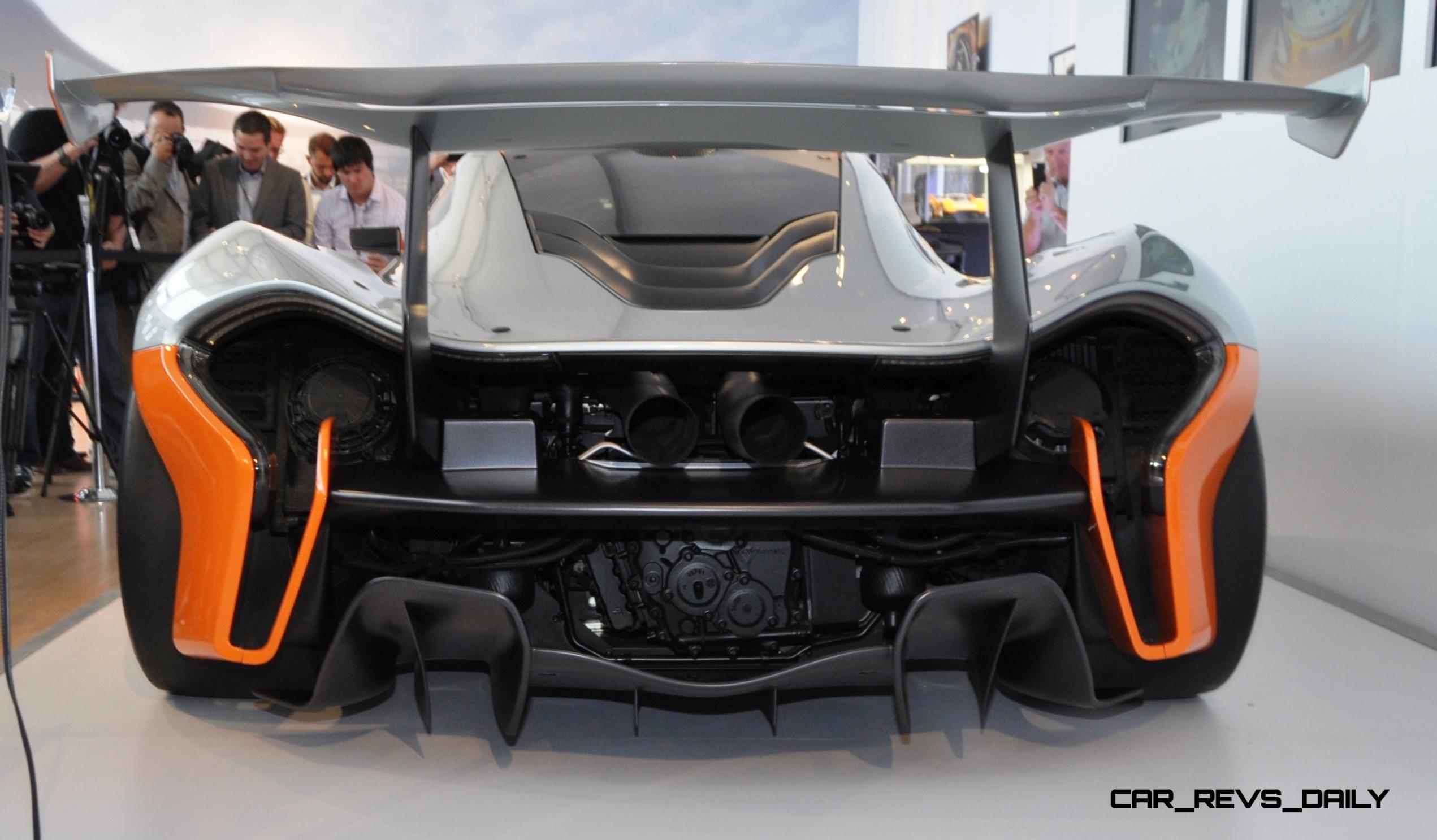 2015 McLaren P1 GTR - Pebble Beach World Debut in 55 High-Res Photos 6