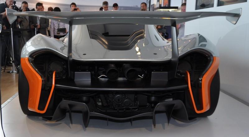 2015 McLaren P1 GTR - Pebble Beach World Debut in 55 High-Res Photos 7