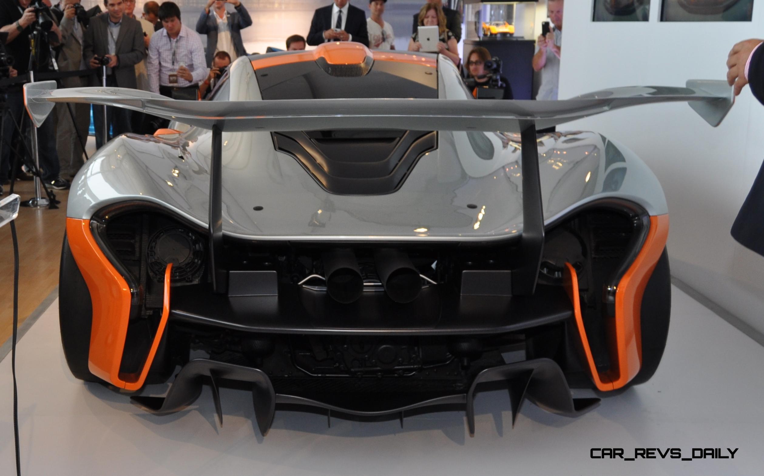 2015 McLaren P1 GTR - Pebble Beach World Debut in 55 High-Res Photos 8