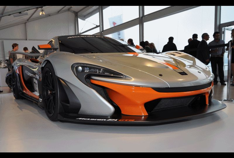 2015 McLaren P1 GTR - Pebble Beach World Debut in 55 High-Res Photos gif