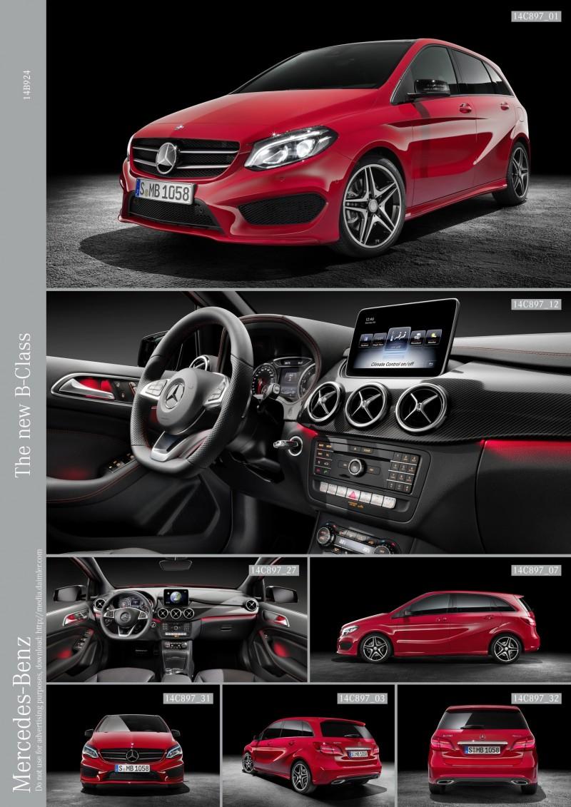 2015 Mercedes-Benz B-Class  1