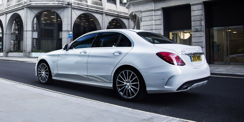 2015 Mercedes-Benz C-Class in 40 New Photos From London - C300 and C400 Both 4Matic As Standard 1