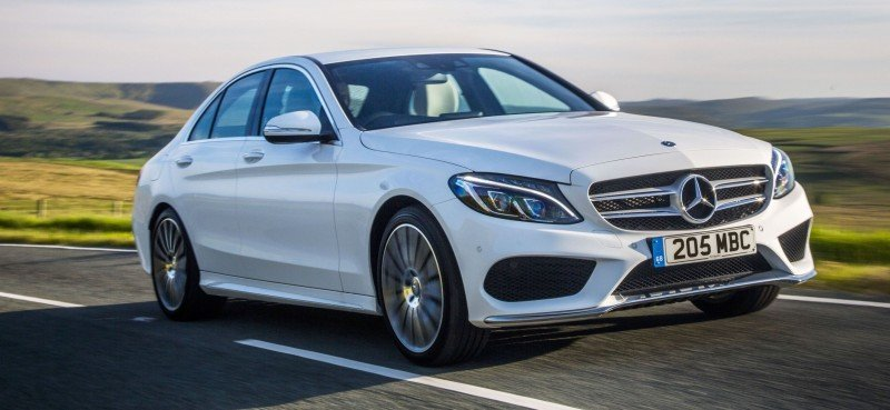 2015 Mercedes-Benz C-Class in 40 New Photos From London - C300 and C400 Both 4Matic As Standard 16
