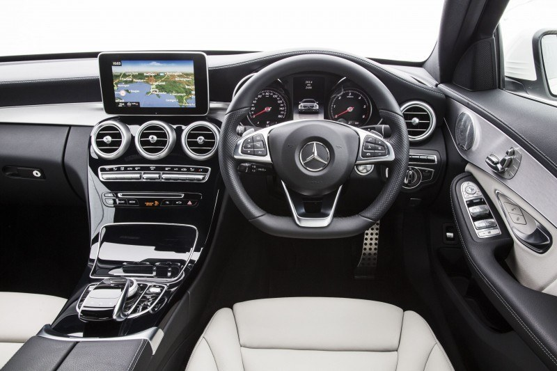 2015 Mercedes-Benz C-Class in 40 New Photos From London - C300 and C400 Both 4Matic As Standard 18