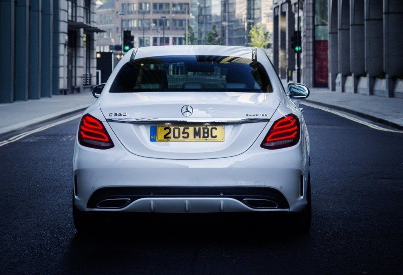 2015 Mercedes-Benz C-Class in 40 New Photos From London - C300 and C400 Both 4Matic As Standard 2