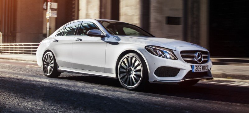 2015 Mercedes-Benz C-Class in 40 New Photos From London - C300 and C400 Both 4Matic As Standard 3