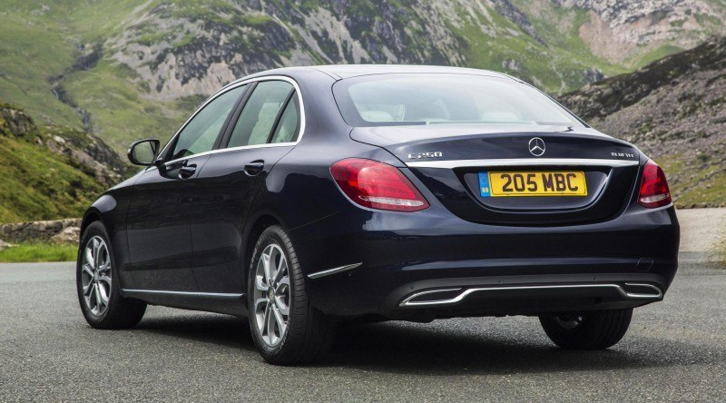 2015 Mercedes-Benz C-Class in 40 New Photos From London - C300 and C400 Both 4Matic As Standard 32