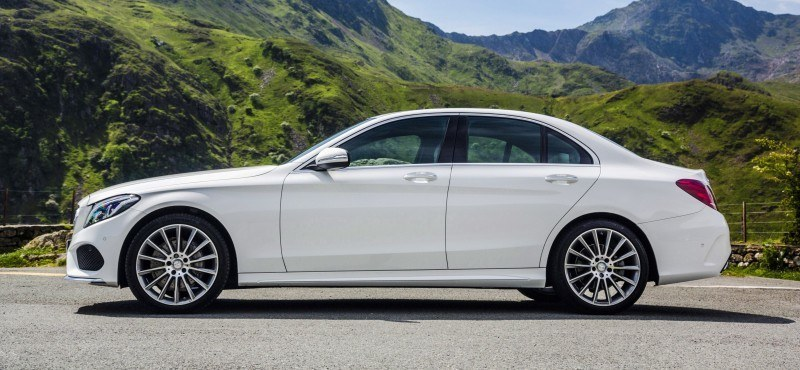 2015 Mercedes-Benz C-Class in 40 New Photos From London - C300 and C400 Both 4Matic As Standard 34