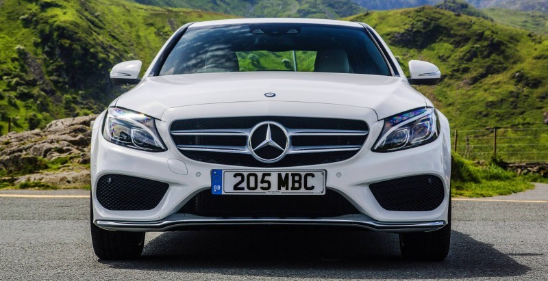 2015 Mercedes-Benz C-Class in 40 New Photos From London - C300 and C400 Both 4Matic As Standard 35