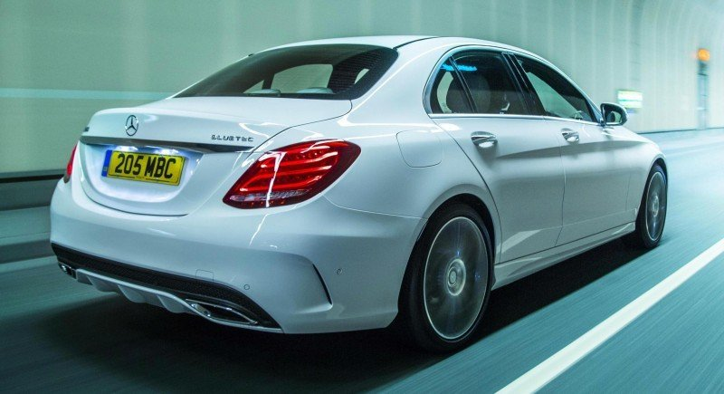 2015 Mercedes-Benz C-Class in 40 New Photos From London - C300 and C400 Both 4Matic As Standard 36