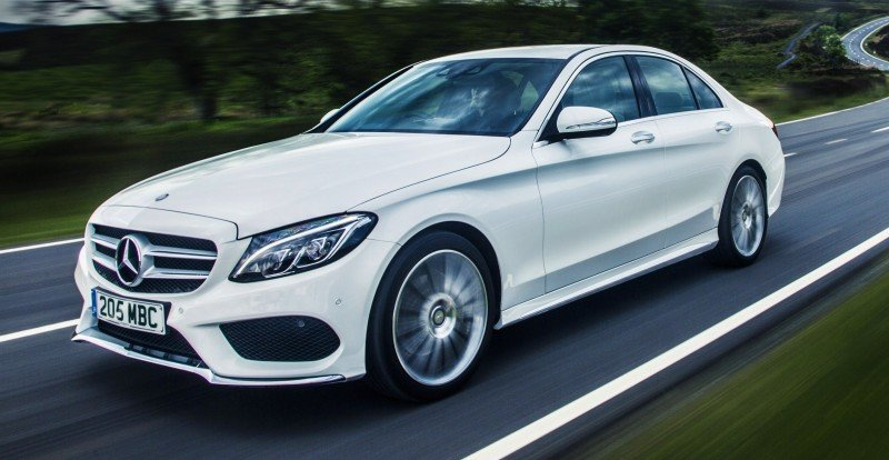 2015 Mercedes-Benz C-Class in 40 New Photos From London - C300 and C400 Both 4Matic As Standard 37