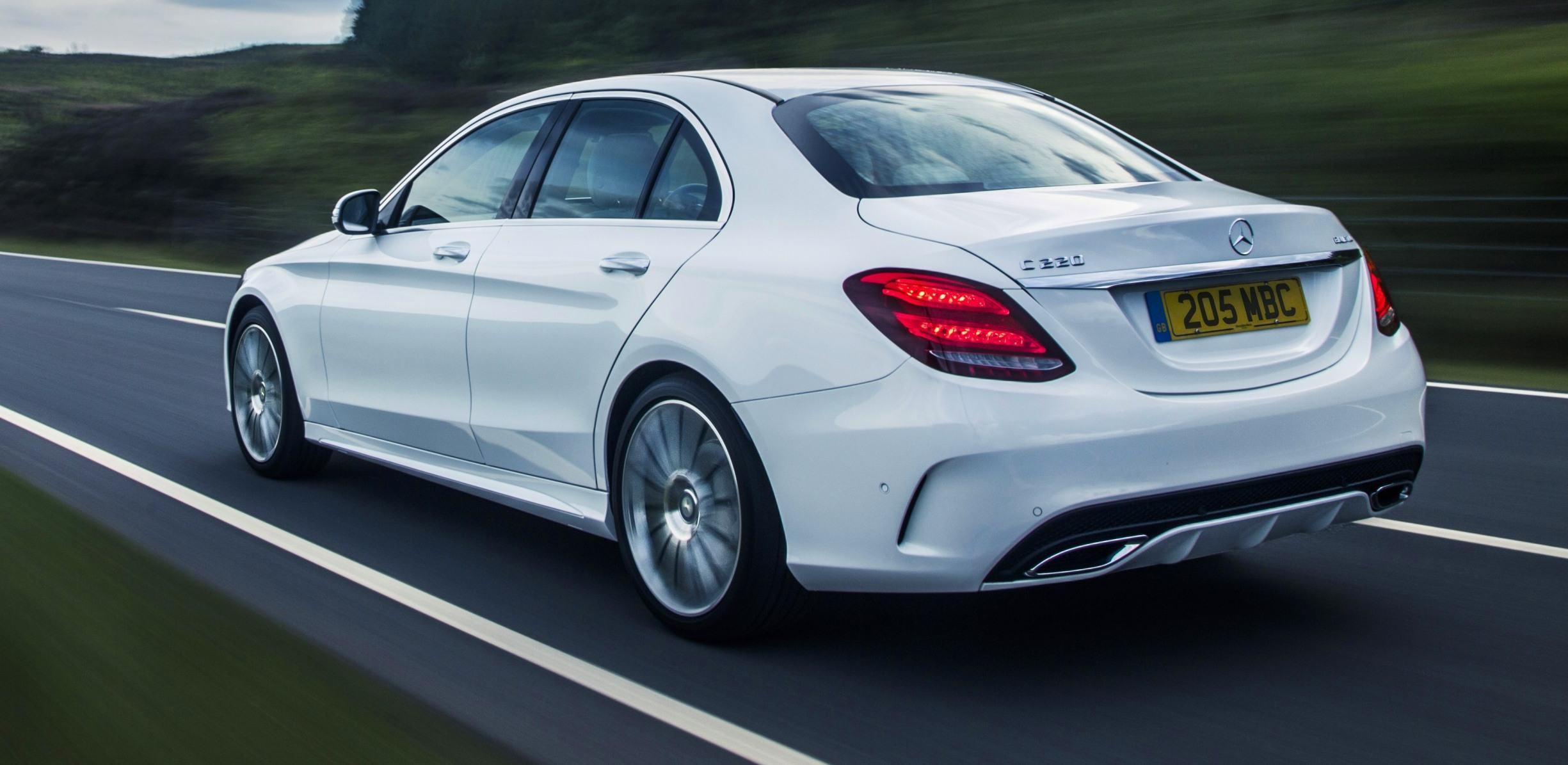 mercedes mas rear benz notes article sedan review autoweek car reviews