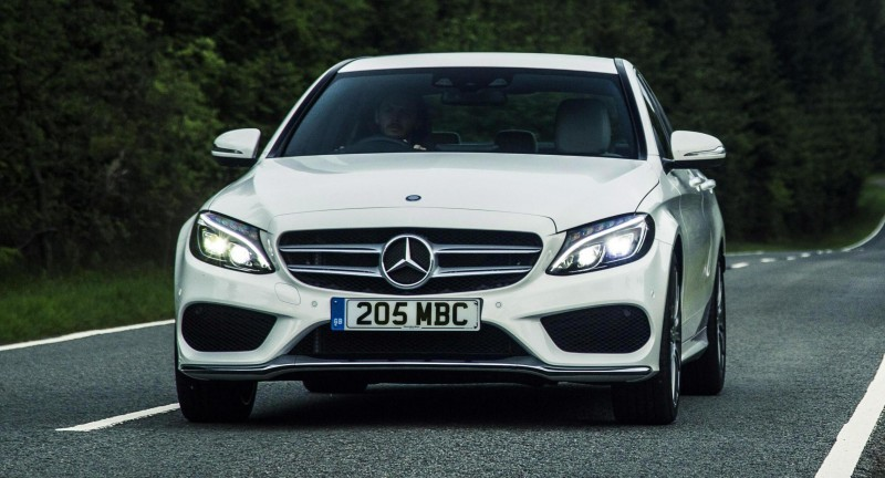2015 Mercedes-Benz C-Class in 40 New Photos From London - C300 and C400 Both 4Matic As Standard 39