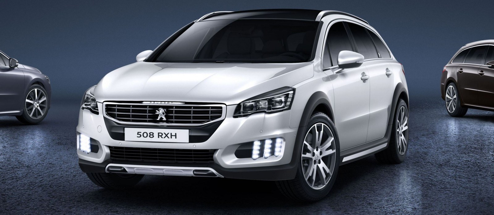 2015 Peugeot 508 Facelifted With New LED DRLs, Box-Design Beams and Tweaked Cabin Tech 1