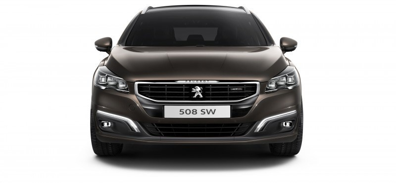 2015 Peugeot 508 Facelifted With New LED DRLs, Box-Design Beams and Tweaked Cabin Tech 22