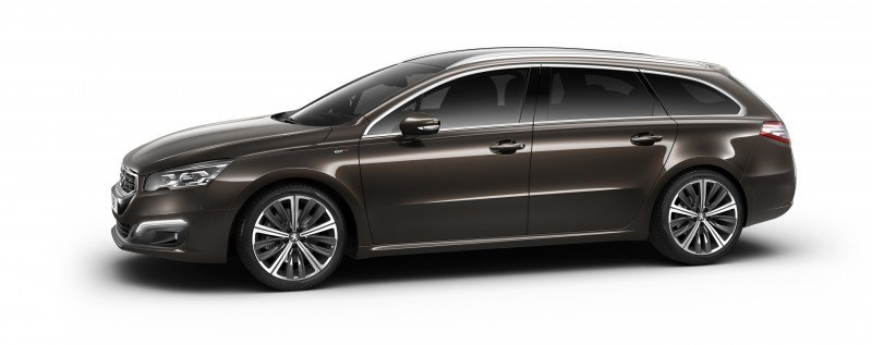 2015 Peugeot 508 Facelifted With New LED DRLs, Box-Design Beams and Tweaked Cabin Tech 24