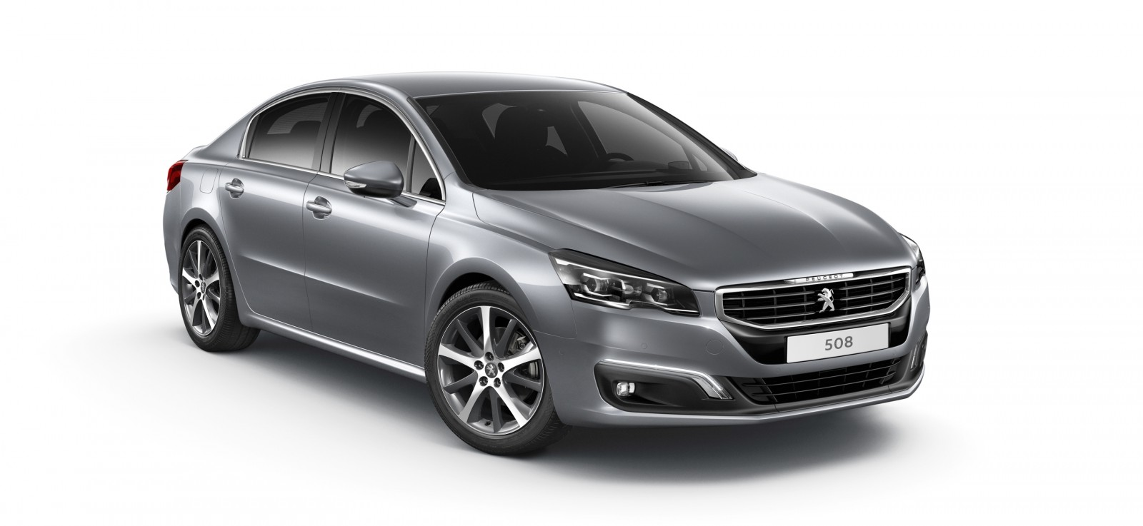 2015 Peugeot 508 Facelifted With New LED DRLs, Box-Design Beams and Tweaked Cabin Tech 3