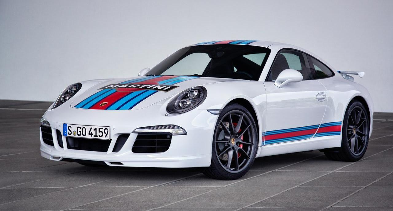 Porsche Caps 50 Years Of 911 Sportscars With Martini