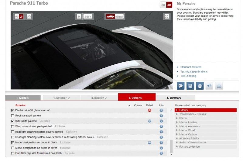 2015 Porsche 911 Turbo S - Configurator Options 18
