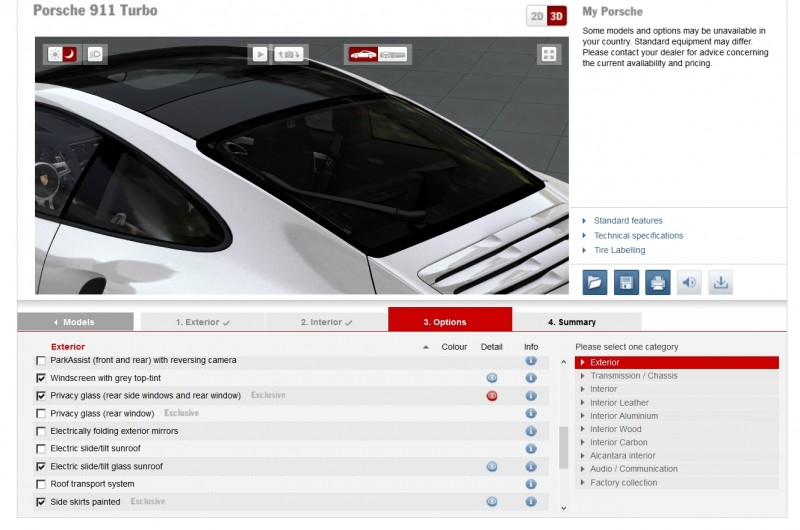 2015 Porsche 911 Turbo S - Configurator Options 20