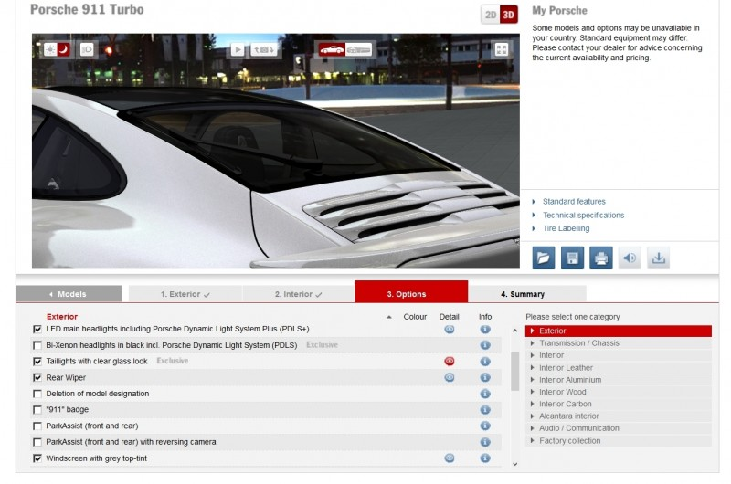 2015 Porsche 911 Turbo S - Configurator Options 22