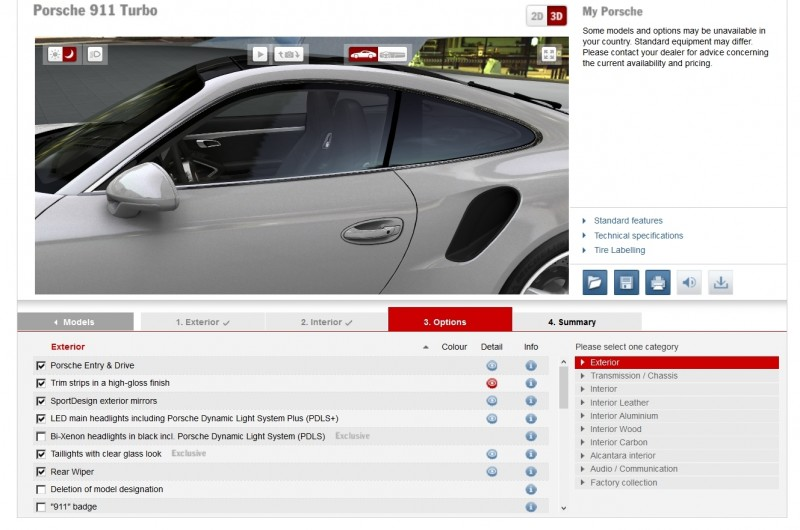 2015 Porsche 911 Turbo S - Configurator Options 26