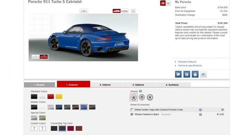 2015 Porsche 911 Turbo S - Configurator Options 27