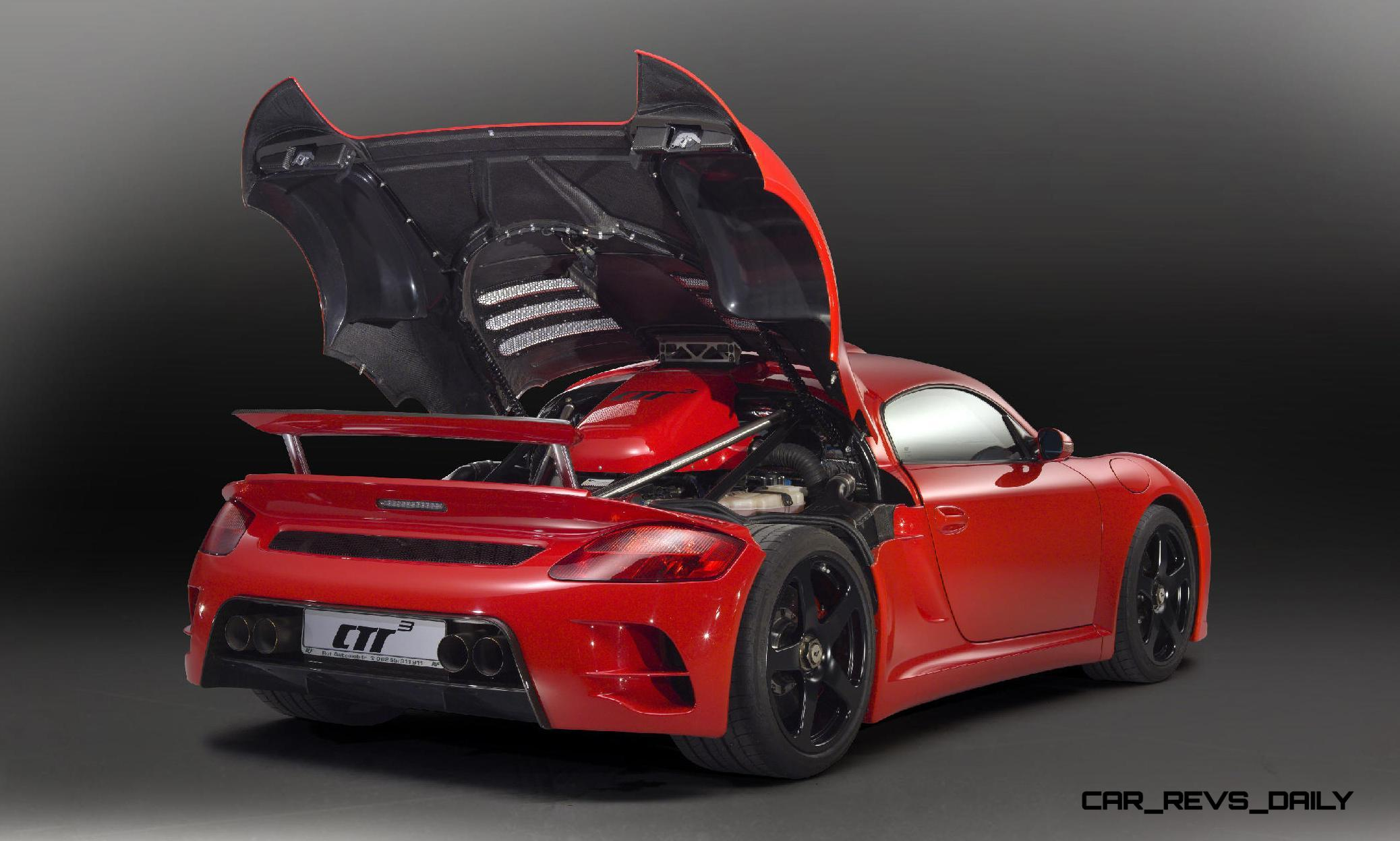 777hp 236mph 2015 Ruf Ctr3 Clubsport Is Veyron Hunting