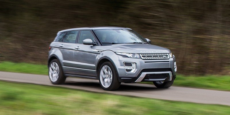 2015 Range Rover Evoque Gains 9-Speed Auto, Refreshed Info Tech and Boosted Engine HP 7
