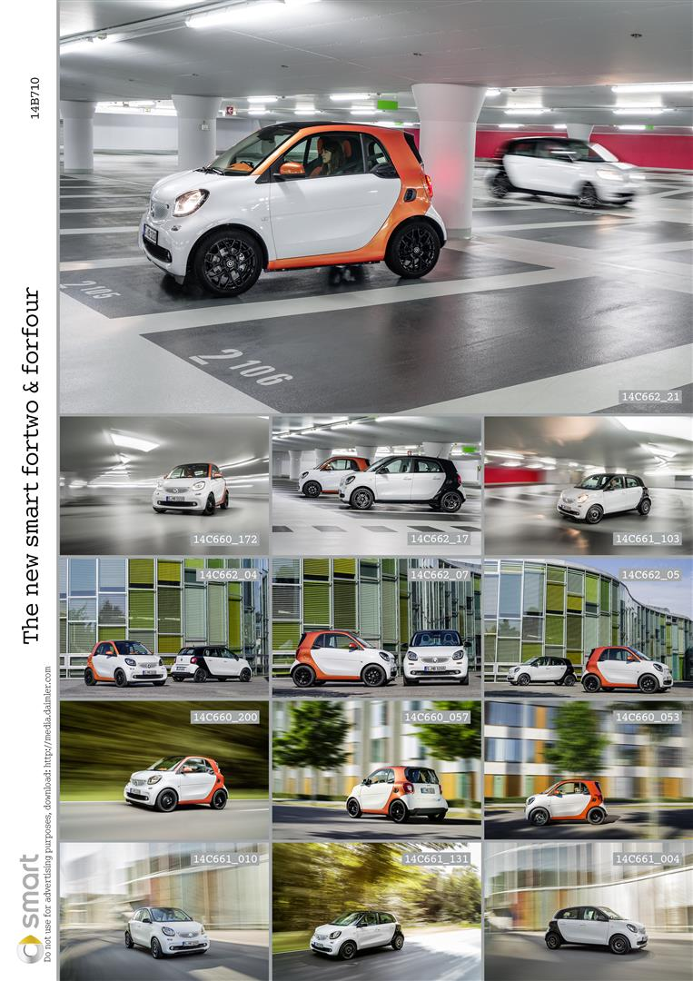 2015 Smart Fortwo and Forfour Bring New Dual-Clutch Automatic + 2 and 4-Door Options 3