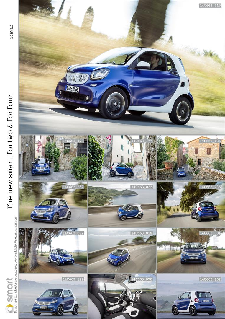 2015 Smart Fortwo and Forfour Bring New Dual-Clutch Automatic + 2 and 4-Door Options 4